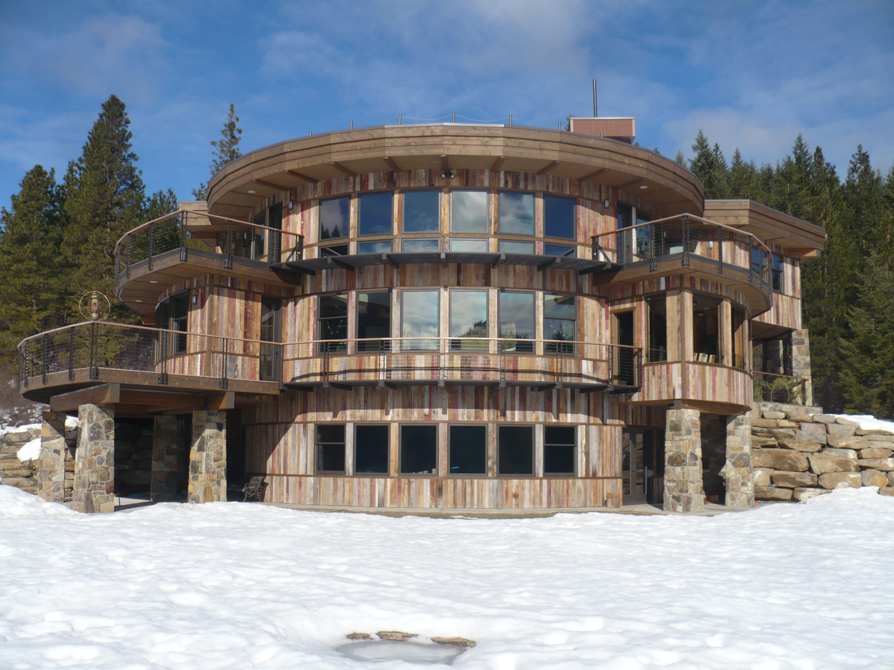 Off-the Grid Mountain Home