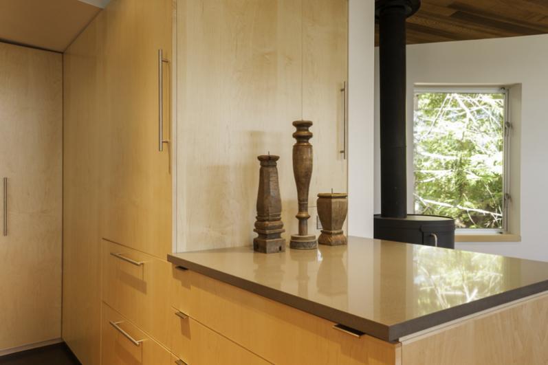 Modern lake wenatchee timberwood construction inc for Timberwood custom kitchens